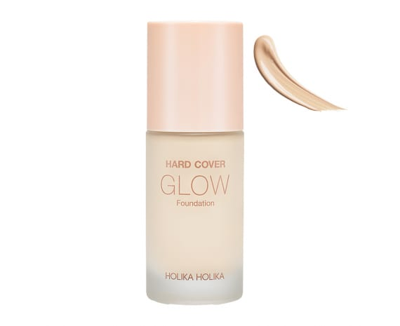Hard Cover Glow Foundation 01 Warm Ivory