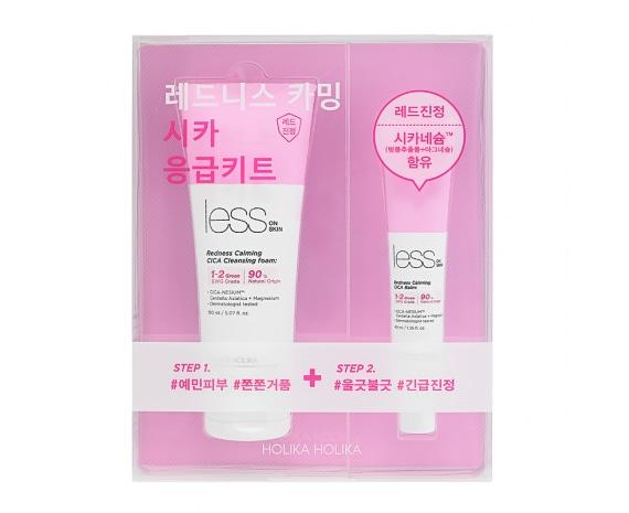Less On Skin Redness Calming CICA Emergency Kit
