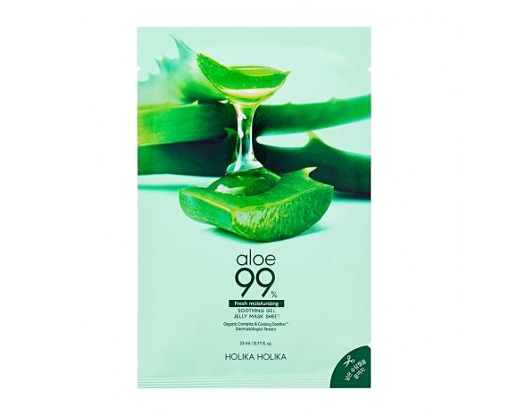 Aloe 99% Soothing Gel Jelly Mask Sheet