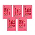 Pure Essence Mask Sheet - Strawberry (5 pcs)
