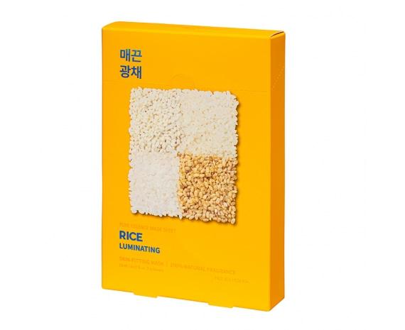 Pure Essence Mask Sheet - Rice (5 pcs)