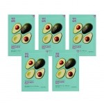 Pure Essence Mask Sheet - Avocado (5 pcs)