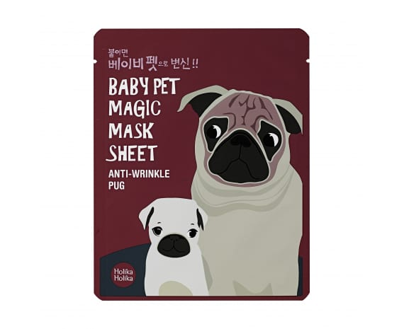 Baby Pet Magic Mask Sheet (Pug)