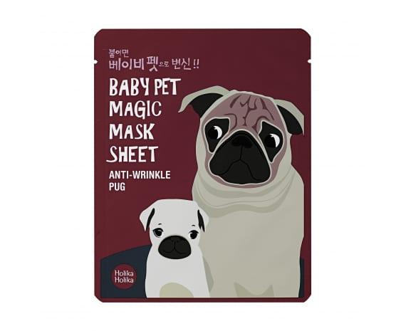Baby Pet Magic Mask Sheet (Pug)