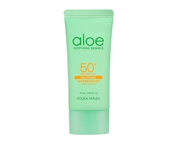 Aloe Soothing Essence Waterproof Sun Gel SPF50+