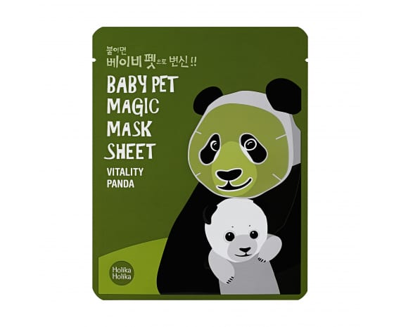 Baby Pet Magic Mask Sheet (Panda)